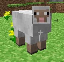 Minecraft Sheep Rigged 3d model