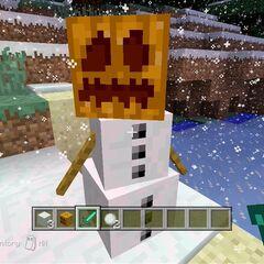 A Snow Golem
