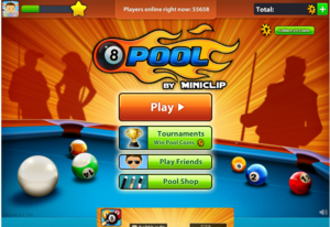 8 Ball Pool Multiplayer Screen1