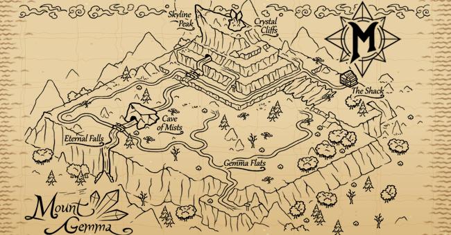 Mount gemma