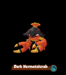 Dark Hermetalcrab