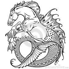 Risultati immagini per ippocampo animale mitologico