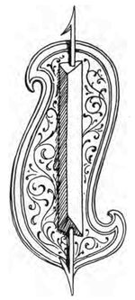 Fechtschild, Italien 15.Jh. handbuchderwaff00collgoog, Fig.198