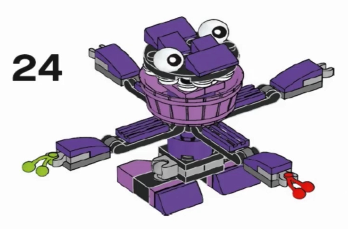 LEGO 41552 Berp Instructions LEGO MIXELS Series 6 Munchos - YouTube