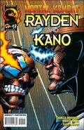 MK Rayden & Kano Issue 2 Cover