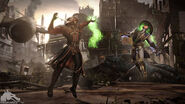 Mortal-kombat-x-ermac-vs-raiden-destroyed-city