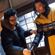 Kevin Tancharoen with Ian Anthony Dale