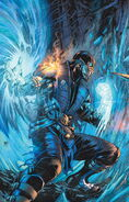 MORTAL KOMBAT X ISSUE 1 COVER SUB-ZERO