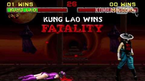 "MK II Kung Lao ""Hat Decapitation"" Fatality"