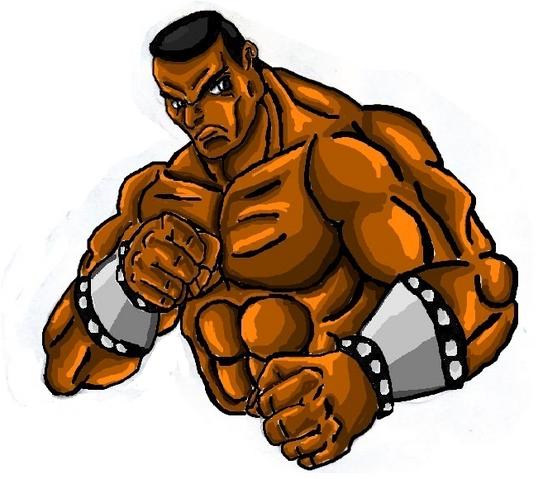 File:Mortal Kombat ll Arcade Art Jax.png