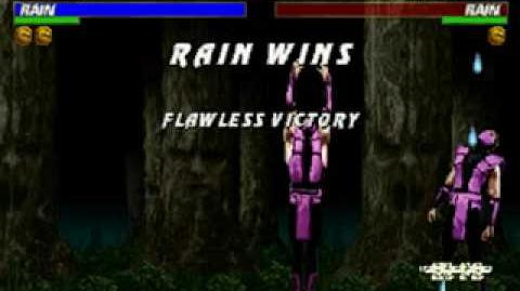 Mortal Kombat Trilogy - Friendship - Rain