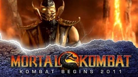 """Mortal Kombat 9 - Trailer """"Kratos Trailer"""""""