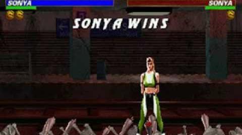 Mortal Kombat Trilogy - Brutality - Sonya