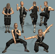Shaolin Monk by Athey