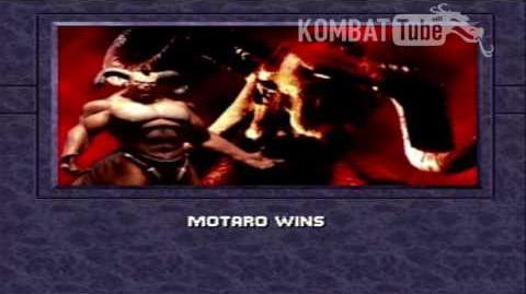 MK III Ending- MOTARO