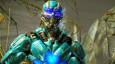 Mortal Kombat X - Triborg Cyber Sub-Zero Arcade Ladder Gameplay Playthrough