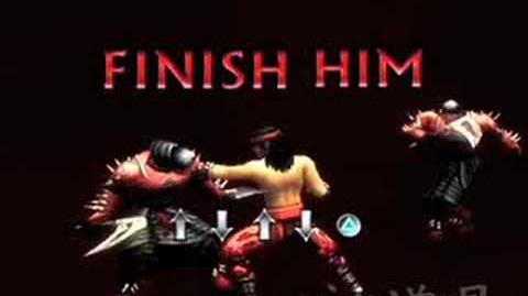 Mortal Kombat Shaolin Monks Liu Kang's Multality 1-0