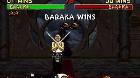 Mortal Kombat II - Fatality 2 - Baraka