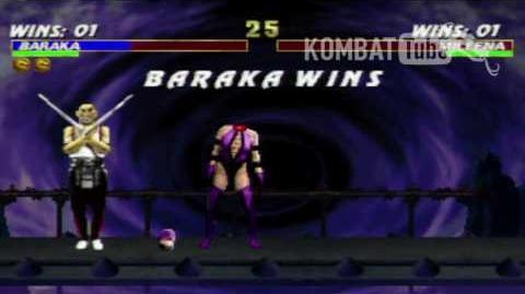 "MK III Baraka ""Blade Slice"" Fatality"