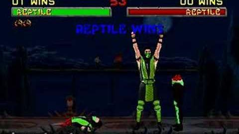 Mortal Kombat II - Fatality 2 - Reptile
