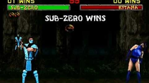 Mortal Kombat II - Friendship- Sub-Zero