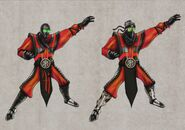 Mortal Kombat Deception Ermac Masked Concepts