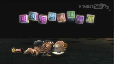 MK9 Kintaro Babality