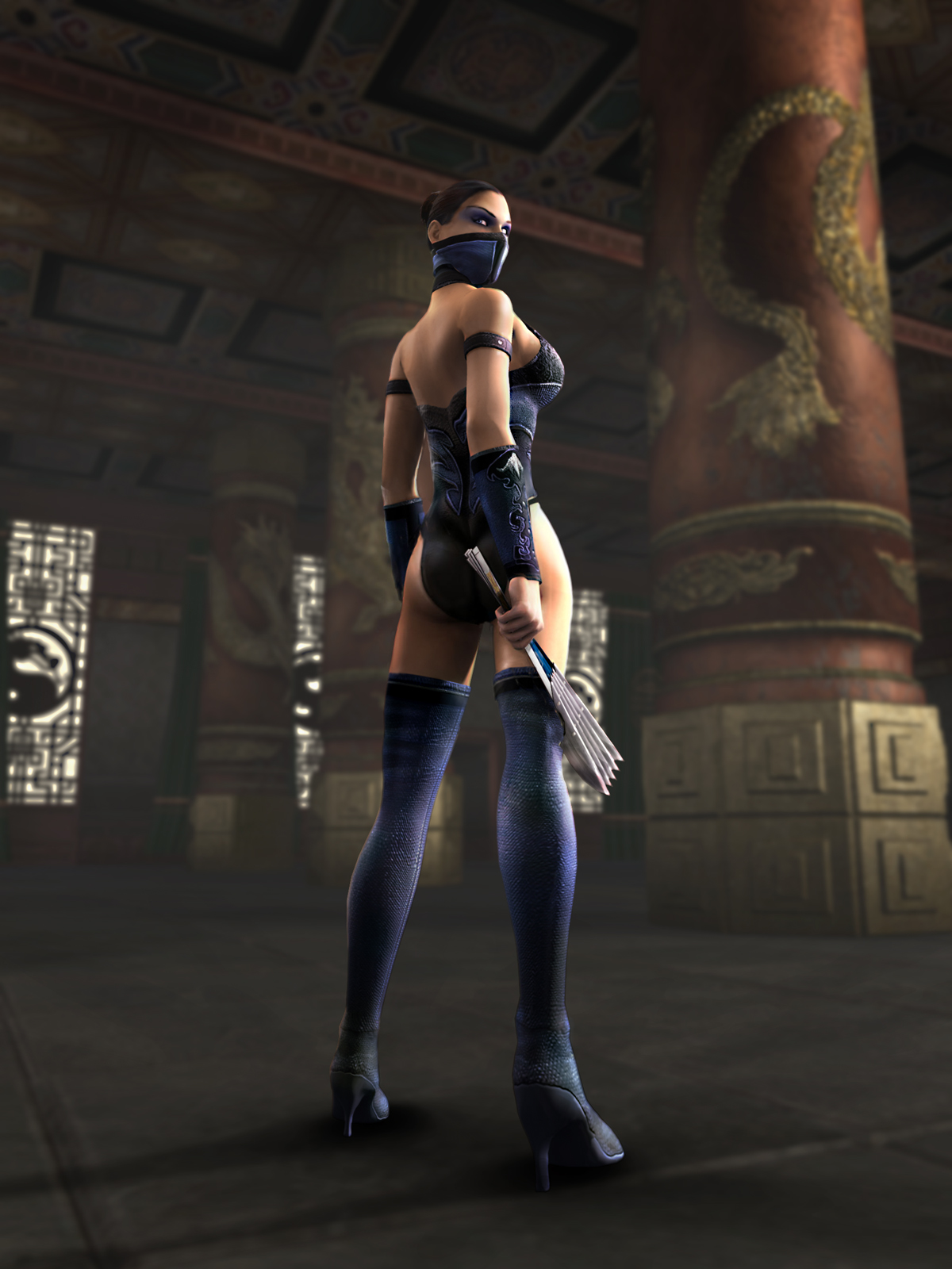 Cassie cage and kitana mortal kombat - 1 part 8