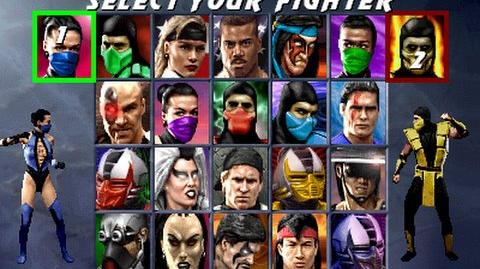 Choose Your Fighter - The evolution of the Mortal Kombat character select screen.