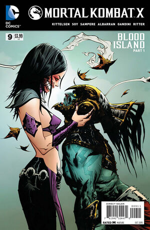 Mortal Kombat X 9 Print Cover