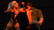 Johnny Cage VS Sindel