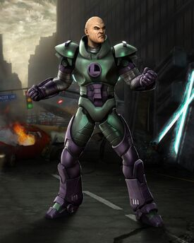 Lex Luthor Render