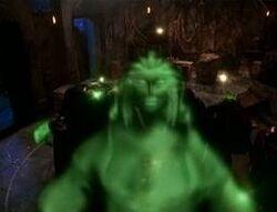 Unleashed evil spirits