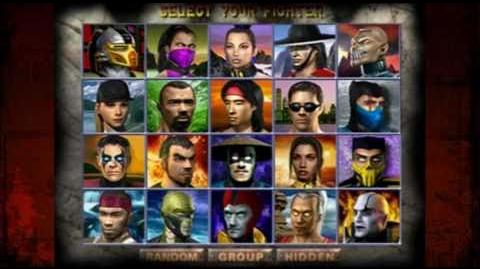 *UPDATED 24-4-11* Choose Your Fighter - The Evolution of the Mortal Kombat Select Screen.