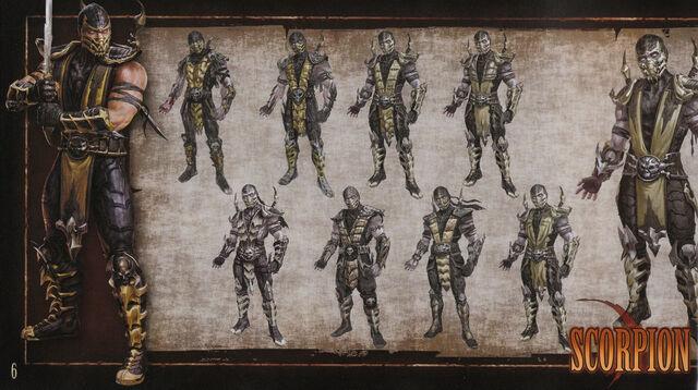 File:MK9 Artbook - Scorpion 1.JPG