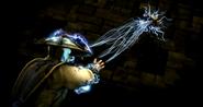 Raiden doing Fatalitys
