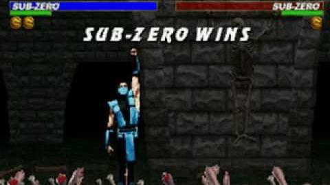Mortal Kombat Trilogy - Brutality - Classic Sub-Zero