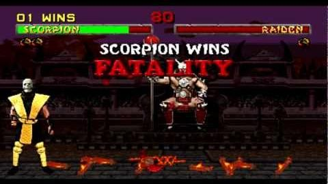 "Scorpion ""Toasty"" Fatality - Mortal Kombat II (Audio Tour Version)"
