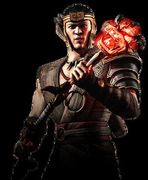 Kung Jin MKX Render