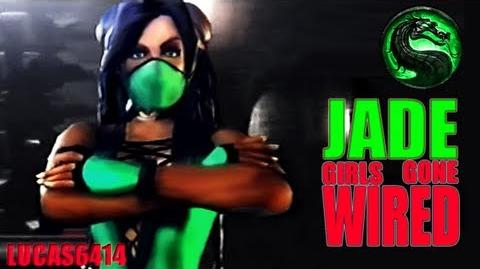Jade Girls Gone Wired - Best Quality Mortal Kombat Deception-0