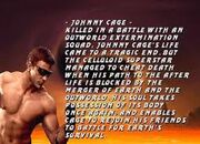 Chris Alexander as Johnny Cage