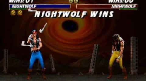 Mortal Kombat Trilogy (N64) - Friendship - Nightwolf