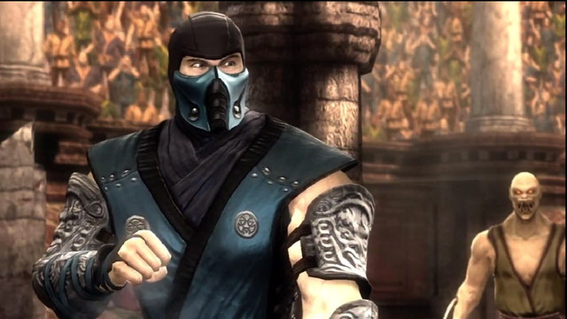 File:Sub-Zero Prepares To Fight Reptile.png