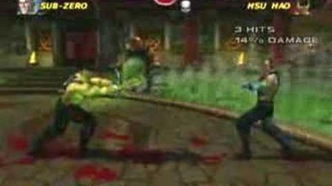 Mortal Kombat Armageddon Hsu Hao's Kombat Card