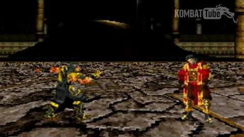 "GBA MK TE Scorpion ""Spear"" Fatality"