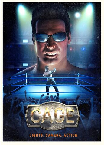 File:WWE Immortals Game Cage poster.jpg