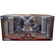 Shao Kahn Throne and Arena with Shao Kahn Mortal Kombat Exclusive Action Figure
