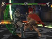 Dark Seid vs Shao Kahn
