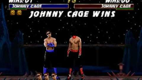 Mortal Kombat Trilogy (N64) - Fatality 2 - Johnny Cage