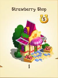Strawberry Shop Inventory